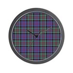 Tartan-MacDonald of Clanranald Wall Clock