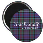 Tartan-MacDonald of Clanranald Magnet