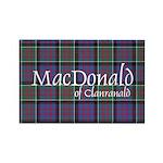 Tartan-MacDonald of Clanranald Rectangle Magnet