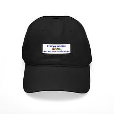 If I Tell You Baseball Hat