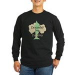 Descended from Dolphins Long Sleeve Dark T-Shirt