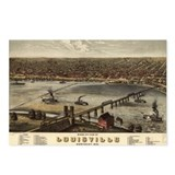Louisville, Kentucky 1876 Postcards (Package of 8)