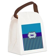 Stripes2015H3 Canvas Lunch Bag