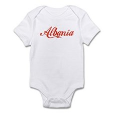 Vintage Albania Infant Bodysuit
