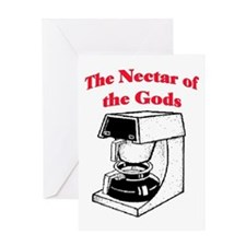 NECTAR OF THE GODS Greeting Card