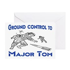 MAJOR TOM Greeting Card