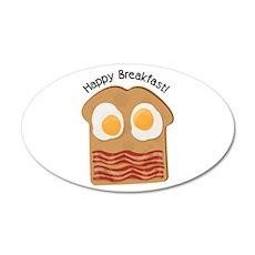 Happy Breakfast! Wall Decal