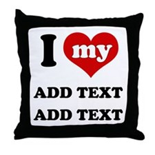 Cute Little brother Throw Pillow