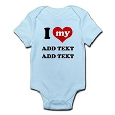 Cute Little brother customized Infant Bodysuit