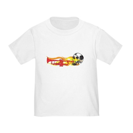 Skull Trumpet Toddler T-Shirt