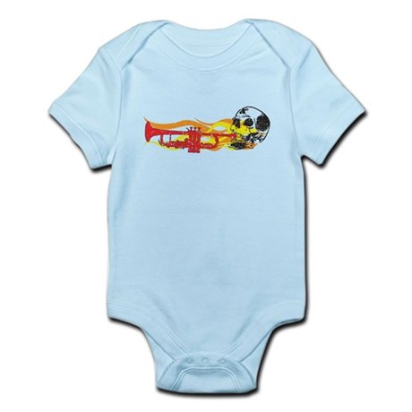 Skull Trumpet Infant Bodysuit
