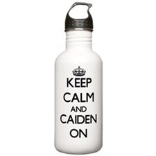 Keep Calm and Caiden O Water Bottle