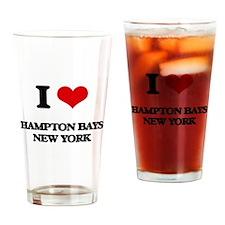 I love Hampton Bays New York Drinking Glass