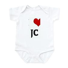 I Love JC Infant Bodysuit