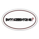 B-SCRATCH 1.0 Oval Decal