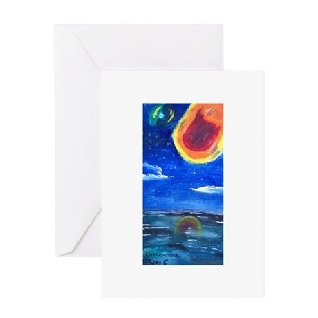 Asteroids Greeting Card