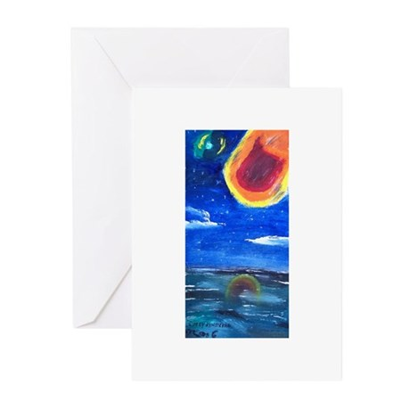 Asteroids Greeting Cards (Pk of 20)