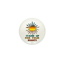 Stand Up For Your Rights Mini Button (10 pack)