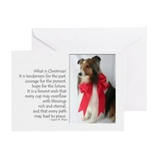 Peace & Joy Sheltie Card