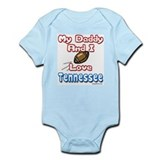 My Daddy And I Love Tennessee Infant Bodysuit