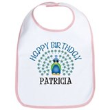 Happy Birthday PATRICIA (peac Bib