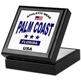 Palm Coast Keepsake Box