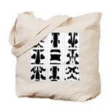 2-Sided Vertebral Collage Tote Bag
