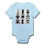 Vertebral Collage Onesie