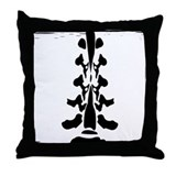 Lumbar Spine Design Throw Pillow