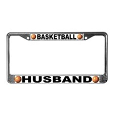 Basketball Husband License Plate Frame