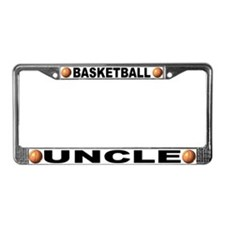 Basketball Uncle License Plate Frame