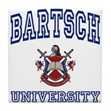 BARTSCH University Tile Coaster