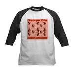 George Ohr Abstract Expressio Kids Baseball Jersey