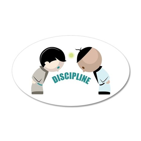 Discipline Wall Decal