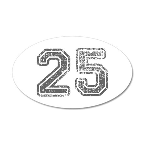 25-Col gray Wall Decal