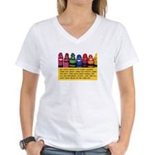 Peaceful Crayons Shirt