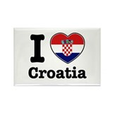 I love Croatia Rectangle Magnet (10 pack)