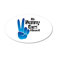 Bunny Ears Wall Decal