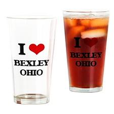 I love Bexley Ohio Drinking Glass