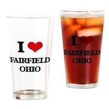 I love Fairfield Ohio Drinking Glass