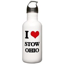 I love Stow Ohio Water Bottle