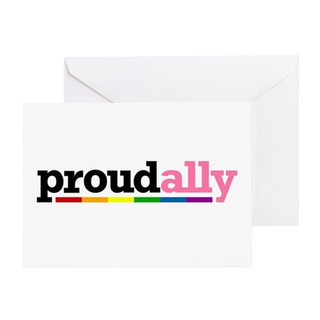 Proud Ally Greeting Card