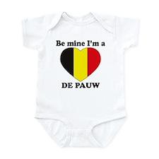 De Pauw, Valentine's Day Infant Bodysuit