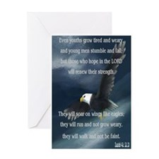 Cute Eagle Greeting Card