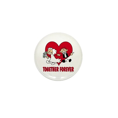 Together Forever Mini Button (100 pack)