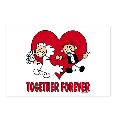 Together Forever Postcards (Package of 8)