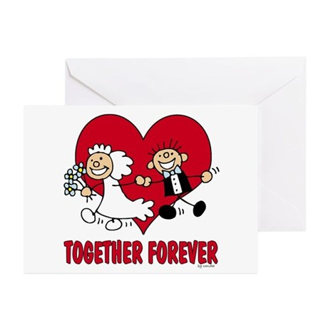Together Forever Greeting Cards (Pk of 10)