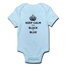 Keep Calm It's Black And Blue Body Suit