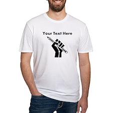 Custom Writer Power T-Shirt
