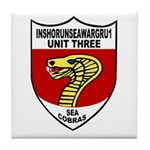 Sea Cobras Tile Coaster